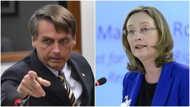 Deputados federais Jair Bolsonaro e Maria do Rosário | Foto: Wilson Dias - Agência Brasil | Foto: Jean-Marc Ferré - UN Photo
