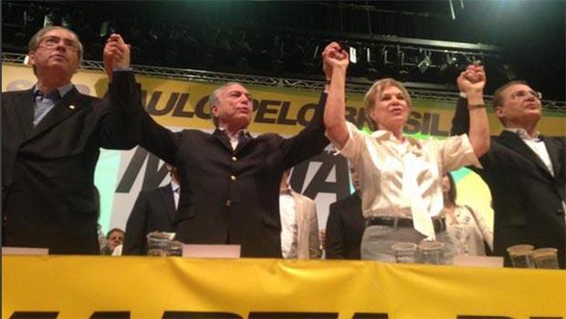 Marta Suplicy se filia ao PMDB e diz que Temer vai reunificar o País