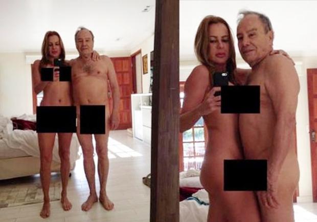 Fotos íntimas do ator Stenio Garcia e da mulher vazaram na web | Foto: Reprodução/Internet