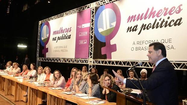 Marconi declara apoio a PEC que estabelece cotas para mulheres