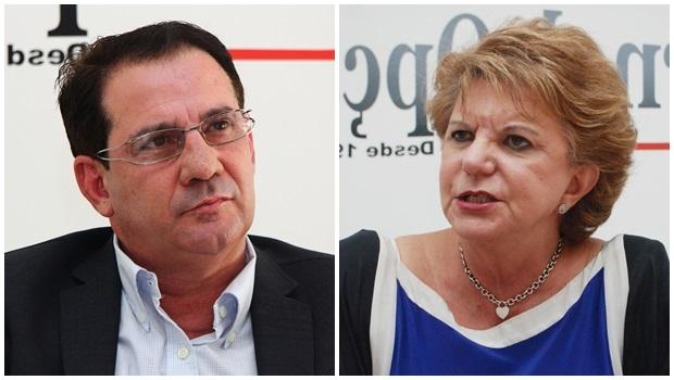   Fotos: Fernando Leite (Vanderlan) e Renan Accioly (Lúcia)/ Jornal Opção