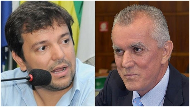 Vinicius Luz e Victor Priori | Foto: Facebook / Assembleia Legislativa