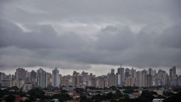 Final de semana do Enem deve ser de muita chuva em Goiânia