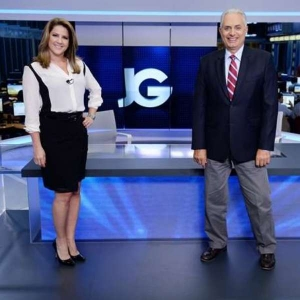 Christiane Pelajo e William Waackjornal-da-globodivulgacao