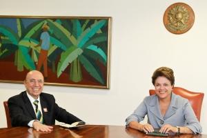 Henrique Meirelles e Dilma Rousseff vão trabalhar juntos? Se depender de Lula da Silva, sim | Foto: Roberto Stuckert Filho/PR