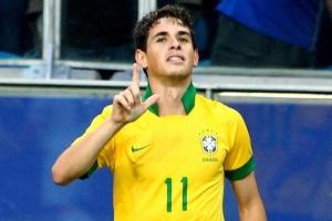 Oscar jogador da seleção