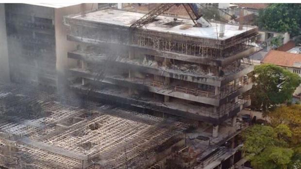 MPF vai investigar incêndio na sede do TRT em Goiânia