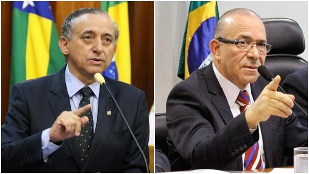 Anselmo Pereira e o ministro Eliseu Padilha têm encontro marcado   Foto: Câmara Municipal e Geraldo Magela / Agência Senado