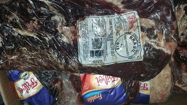 Carne bovina está entre os produtos apreendidos   Foto: Procon/Divulgação