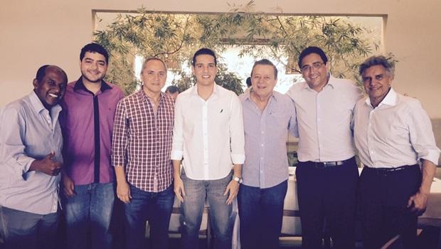 Luiz Bittencourt se reúne com deputados do PTB de olho em 2016