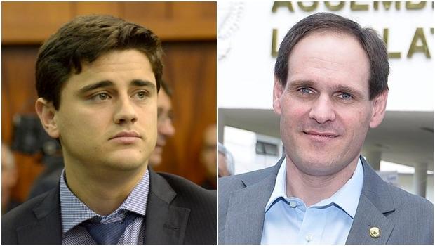 Deputados Diego Sorgatto e Lissauer Vieira deixam o PSD e se filiam à Rede Sustentabilidade | Fotos: Marcos Kennedy e reprodução / Facebook