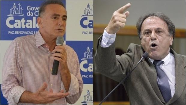 Adib Elias e Jardel Sebba: vão preconizar uma guerra eleitoral em Catalão | Fotos: reprodução / Facebook / Y. Maeda / Alego