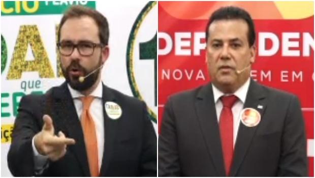 Lúcio Flávio e Enil se unirão? | Fotos: reprodução / TV Metrópole