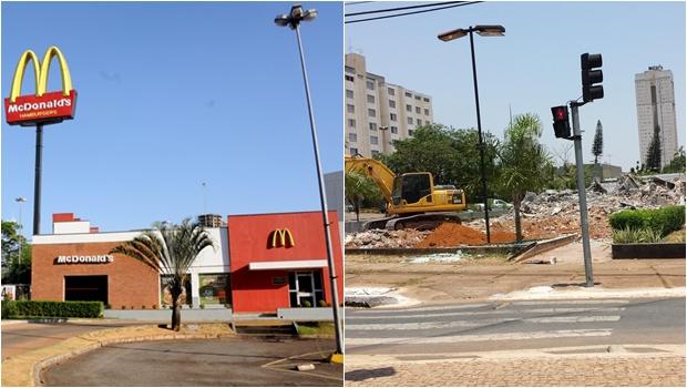 McDonald's da Praça do Ratinho é demolido