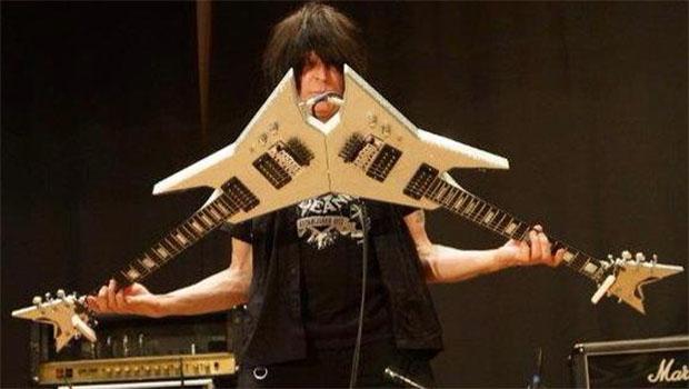 """""""Eu queria ser eu mesmo, ser único, e consegui"""", diz guitarrista Michael Angelo Batio"""