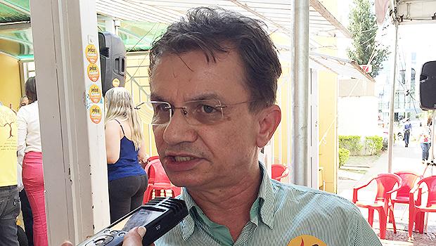 O irista Nailton Oliveira vai apoiar Ronaldo Caiado pra governador