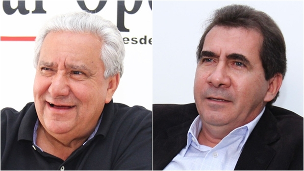 Vilmar Rocha e João Gomes: no PSD, avalia o secretário, o prefeito de Anápolis não será julgado pelos graves equívocos nacionais do PT