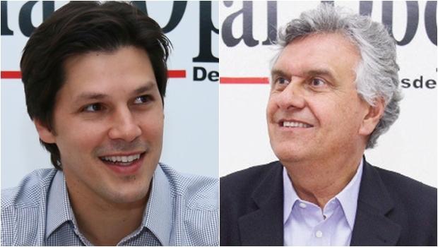 Daniel Vilela e Ronaldo Caiado: eleição para o diretório começa a escolher qual candidato será apoiado pelo PMDB em 2018