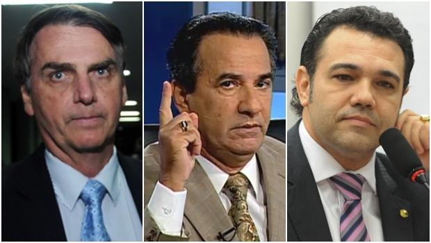 Bolsonaro, Malafaia e Feliciado: o trio do atraso   Fotos: Jornal Opção / reprodução de um vídeo / Agência Câmara
