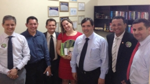 Buonaduce recebe apoio do escritório do promotor Rivael Alves Borges