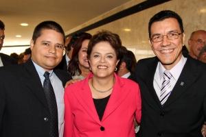 Edward Madureira e Dilma Rousseff edward_e_dilma