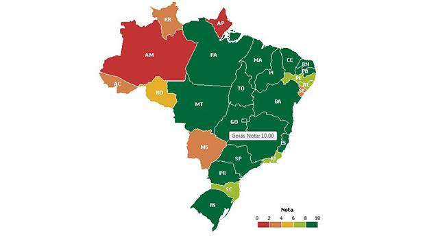 Goiás é o Estado mais transparente do Brasil