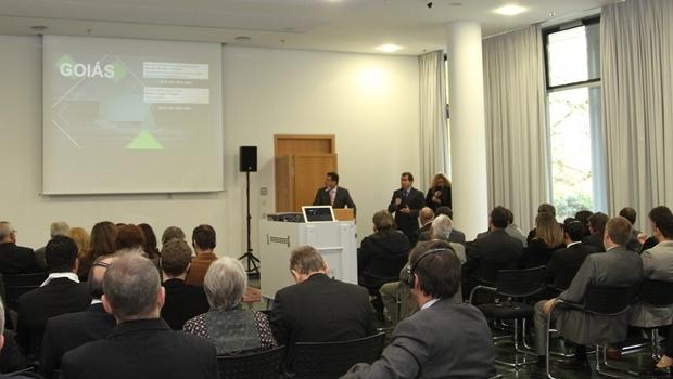 Governador apresentou Goiás à Europa | Foto: Marcos Villas Boas