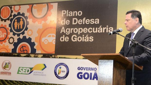 Marconi defende plano agropecuário para garantir segurança alimentar