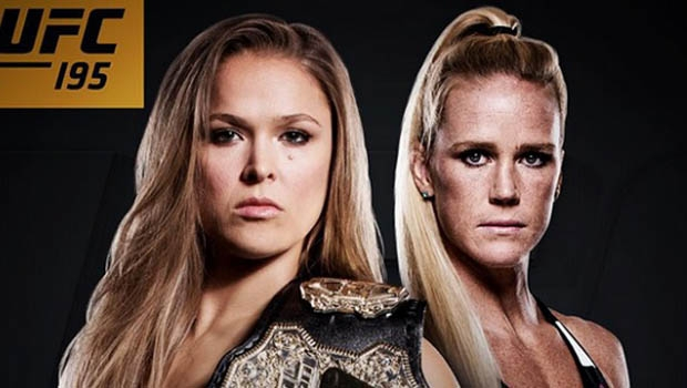 Ronda Rousey e Holly Holm | Foto: divulgação