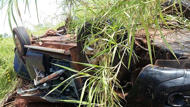 Andarilho descobre acidente fatal em Cachoeira Alta e avisa polícia