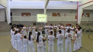 Roda de Capoeira – Aparecida de Goiânia: considerada bem cultural pelo Iphan, manifestação recebeu o título de Patrimônio Cultural Imaterial da Humanidade, em 2014