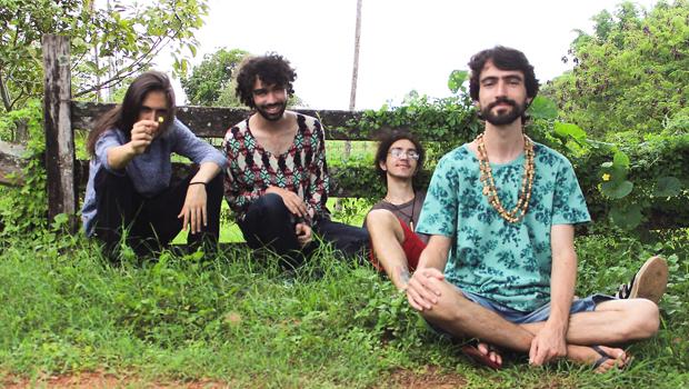 """""""Comunhão"""", o disco de estreia da banda Chá de Gim"""
