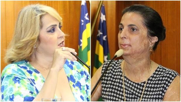 Vereadores Cida Garcês e Dra. Cristina: acusação na Câmara | Fotos: Eduardo Nogueira