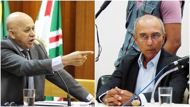 Vereador Djalma Araújo (Rede) e o empresário Ilézio Inácio   Fotos: Alberto Maia / Marcello Dantas