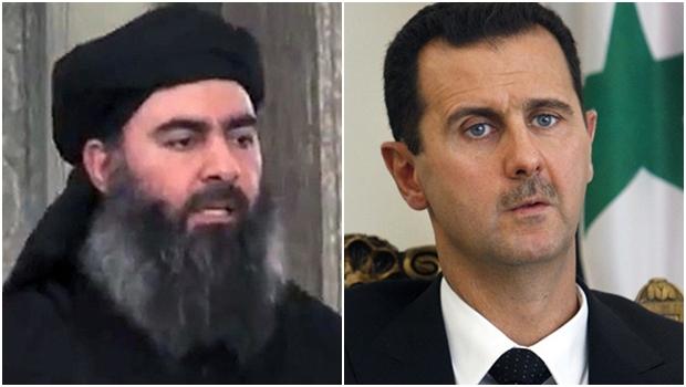 Abu Bakr al-Baghdadi, o poderoso chefão (califa) do Estado Islâmico, e Bashar al-Assad, o presidente da Síria: os líderes ocidentais (como Barack Obama e François Hollande) descobriram que o primeiro pode ser pior, para a paz mundial, do que o segundo. Mas poucos querem aceitar que a Arábia Saudita e o Qatar financiam terroristas