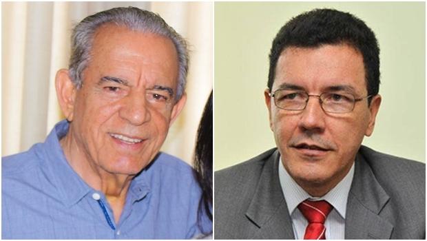 Iris Rezende e Edward Madureira: dobradinha fica?   Fotos: reprodução / Facebook
