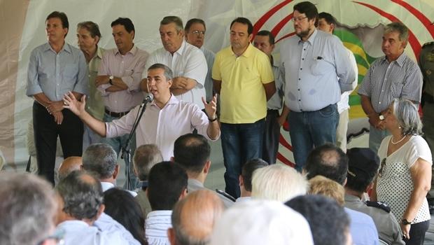 Vice-governador  discursa durante evento | Foto: Jota Eurípedes