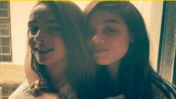 Adolescentes Lara e Jéssica agora são amigas | Foto: Reprodução/Facebook