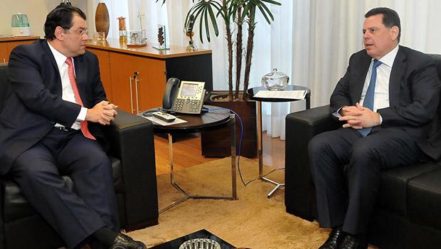 Marconi e ministro de Minas e Energia discutem futuro da Celg D
