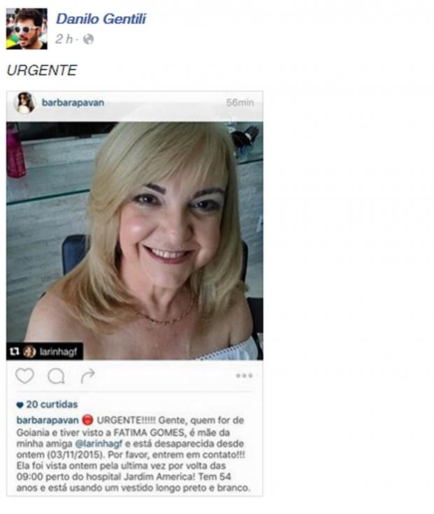 Humorista Danilo Gentili repercutiu caso