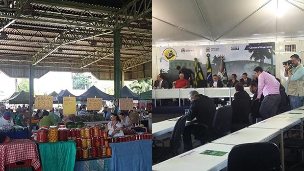 """Feirantes do Jardim América reclamam de Cepal """"ocupado"""" por vereadores"""