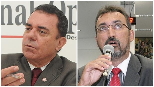 Luis Cesar Bueno e Humberto Aidar: os pesos-pesados do PT em Goiânia são bem articulados