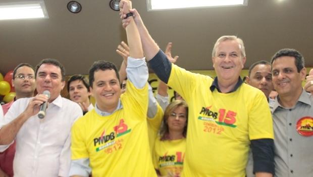 Agenor Mariano à época da escolha do vice para o prefeito Paulo Garcia. Ainda faz parte da administração? | Foto: Edilson Pelikano
