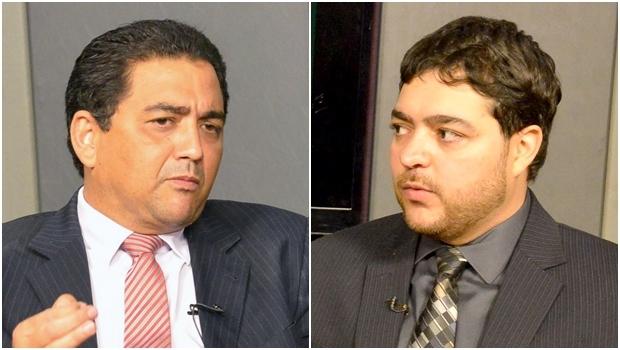 Deputados do PTB Talles Barreto (esq) e Henrique Arantes   Assembleia/Divulgação