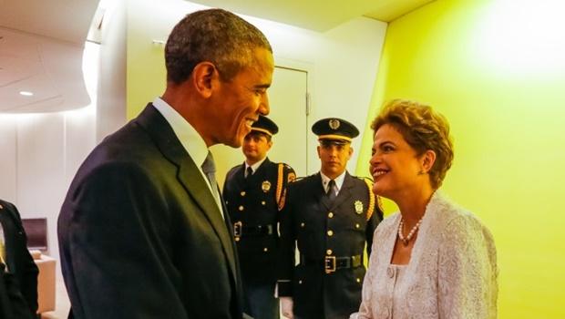 Dilma e Obama articulam posição conjunta na COP21