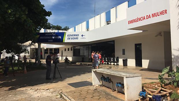 Após inspeção, promotor do MP-GO atesta lotação no Materno Infantil