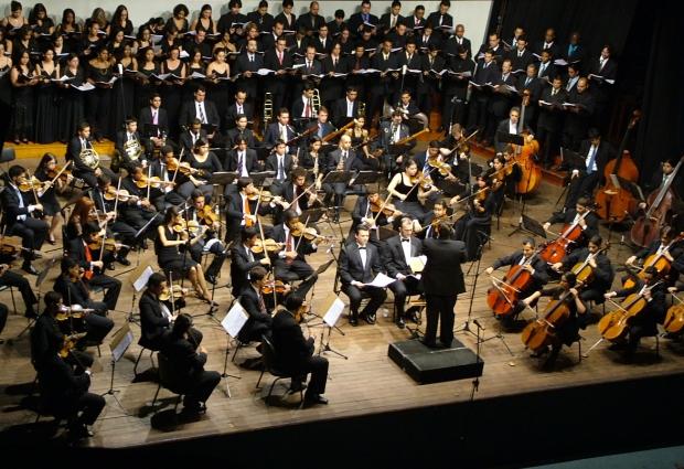 Orquestra Sinfônica Jovem de Goiás dá vida a uma das mais conhecidas obras do italiano Giuseppe Verde | Foto: Divulgação