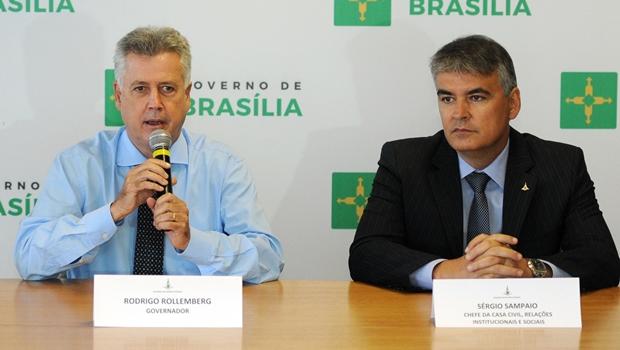Sérgio Sampaio é apontado por deputados distritais como o governador de fato de Brasília