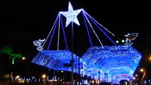 Luzes de Natal na Tamandaré serão ligadas na terça-feira
