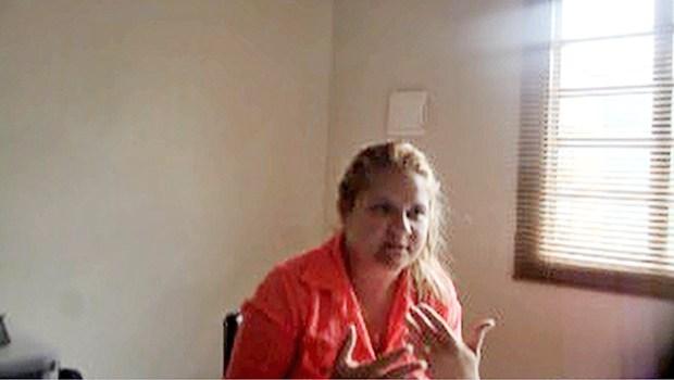 Ariane foi flagrada intermediando propina em 2013   Foto: Reprodução/Vídeo